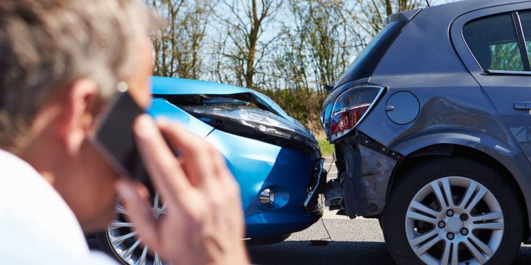How To Handle A Traffic Accident