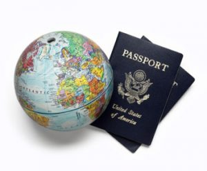 passport, world travel