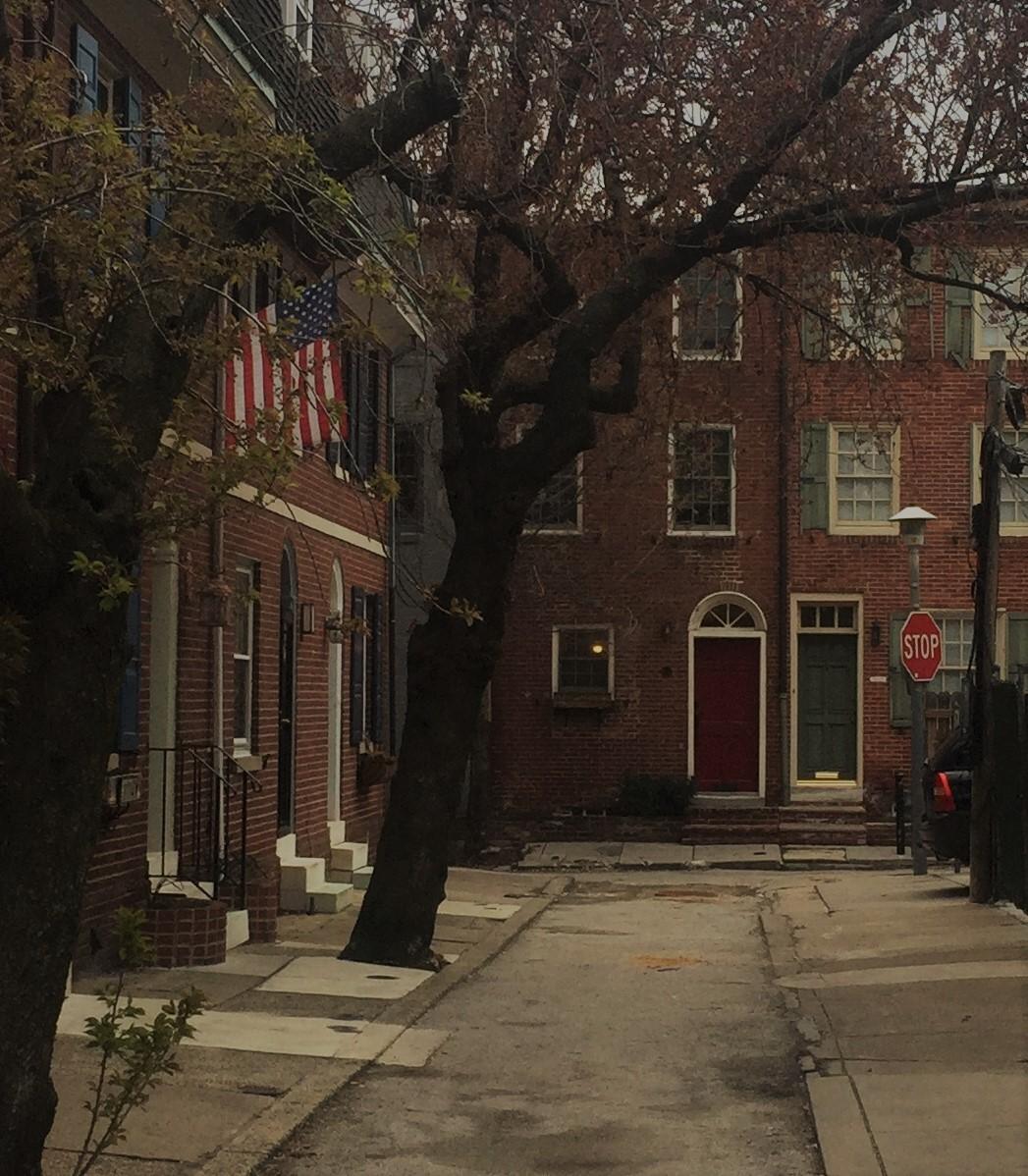 Rowhouses in Philadelphia