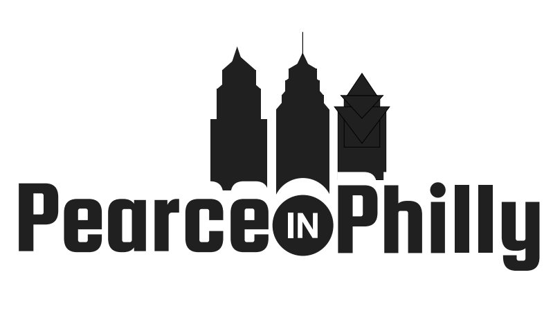Pearce in Philly logo.
