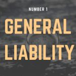 "Sign that reads ""General Liability."""