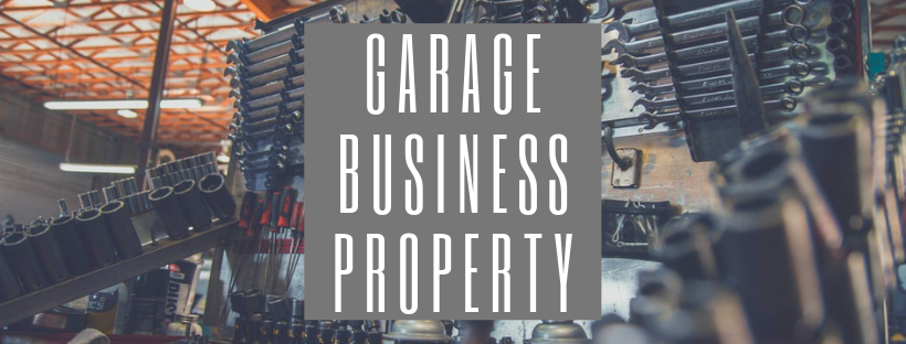 Sign that reads Garage Business Property