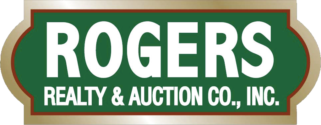 Logo that reads: Rogers Realty & Auction Co