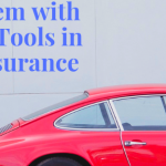 Sign that reads: The Problem with Employee Tools in Garage Insurance