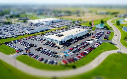 Dealership from above.
