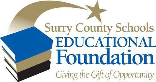 Surry Education Foundation logo, an educational charity foundation.