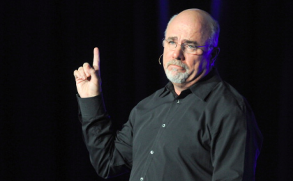 Dave Ramsey looking sad.