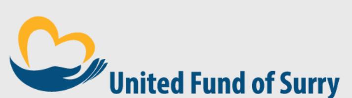 United Fund of Surry logo, a charity organization.