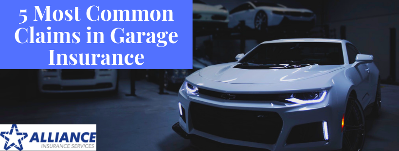 5 Most Common Claims in Garage Insurance