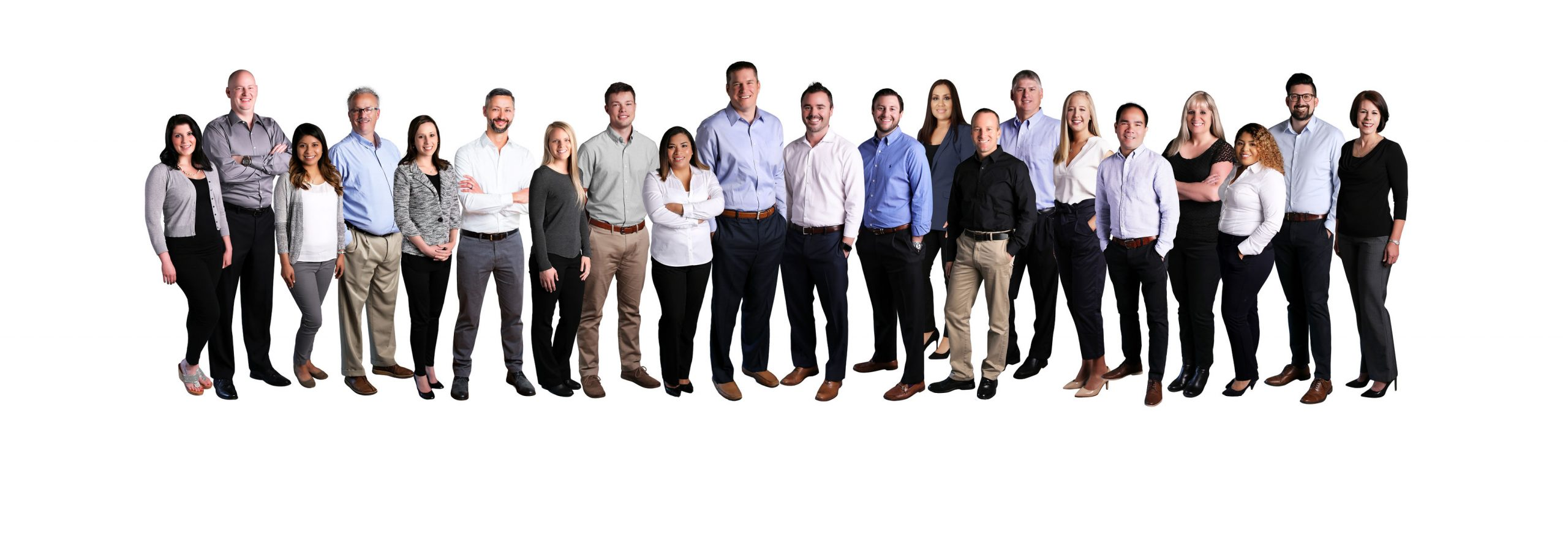 Alliance Insurance group staff picture.