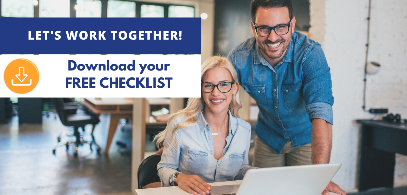 Small business owners happy to download a checklist.