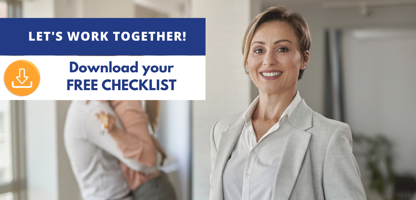 Real estate agent happy after using checklist for insurance.