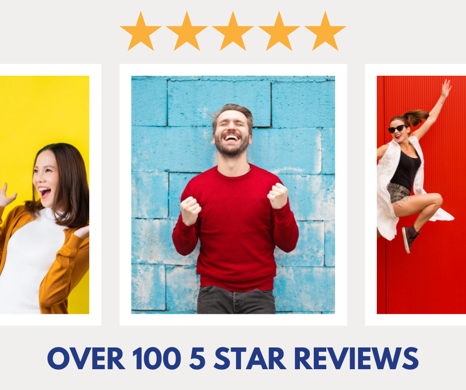 5 star insurance reviews make people happy.